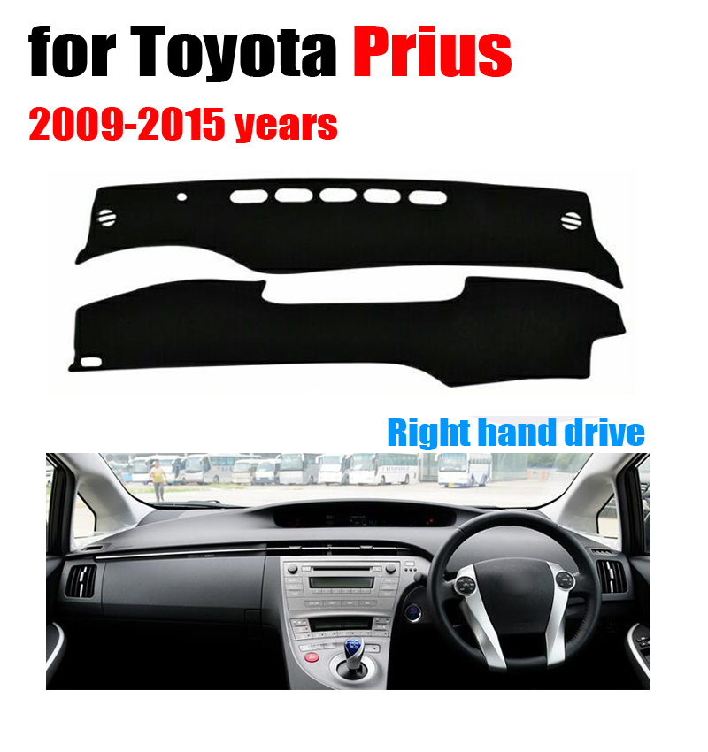 Car dashboard cover mat for Toyota Prius 2009-2015 years Right hand drive dashmat pad dash mat covers dashboard accessories car dashboard cover mat for nissan new teana altima 2009 2012 right hand drive dashmat pad dash covers dashboard accessories page 6
