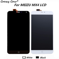 Crazy Cow Meizu MX4 LCD Display Touch Screen Tools High Quality Repair Replacement Accessory For Meizu