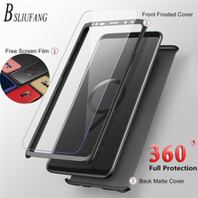 Luxury 360 Degree Full cover Case For Samsung Galaxy S10 S9