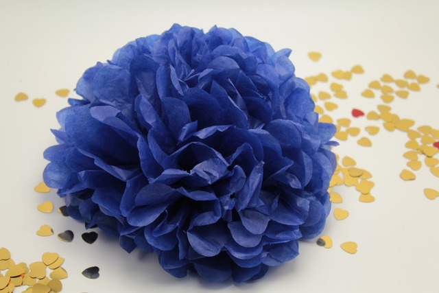 10pcs 10 inches tissue paper pom poms royal blue flower balls 10pcs 10 inches tissue paper pom poms royal blue flower balls engagement party decoration kits supplies mightylinksfo