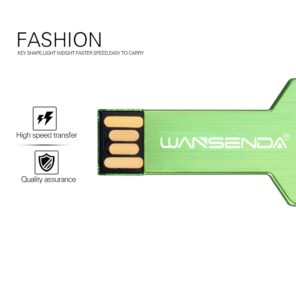 WANSENDA Հիմնական USB ֆլեշ կրիչ անջրանցիկ - Արտաքին պահեստավորման սարքեր - Լուսանկար 3