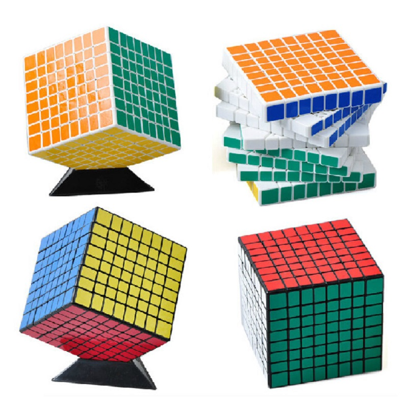 ShengShou 8x8 Puzzle Cube Professional PVC&Matte Stickers Cubo Magico Puzzle Speed Classic Toys Learning & Education Toys shengshou 2x2x2 4x4x4 pyraminx sticker magic cube megaminx cube 3x3 mirror puzzle learning toys gifts magico cubo 48