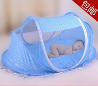 2016 New Design Infant Toddler Child Baby Mosquito Bed Net Yurt Folding Easy Carrying Crib Netting