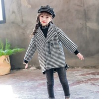 2018 Children Clothing Spring Autumn Coats Jackets For Girls Windbreakers Outerwear Worsted Coat Kids Outerwear Children Clothes