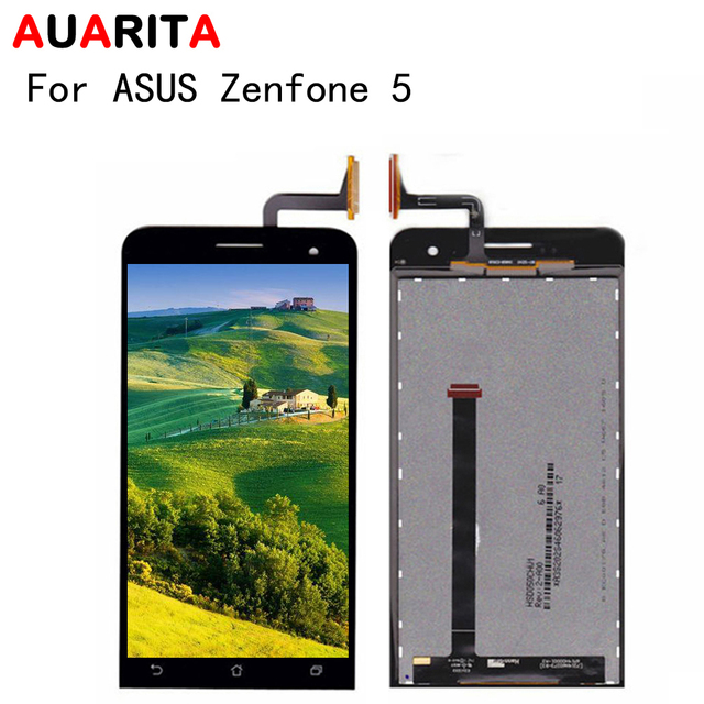 "No Dead Pixel 5.0"" Display For ASUS Zenfone 5 LCD Touch panel Screen Replacement Zenfone5 Digitizer assembly A500CG A501CG T00J"