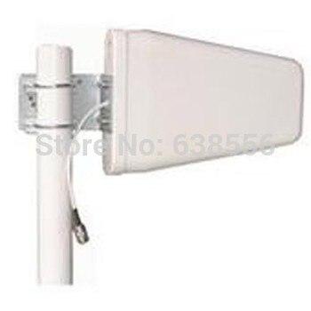 (800-2500 MHz) 9dbi lpda antena LTE SMA 4G para Huawei LTE router 1 m cable SMA