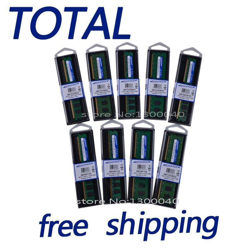 KEMBONA DDR3 2G/4G/8G de trabalho para MB Novo Selado DDR3 A-M-D 1600 mhz/ 1333 mhz/1066 mhz/PC3 10600 Desktop Memória RAM/frete grátis