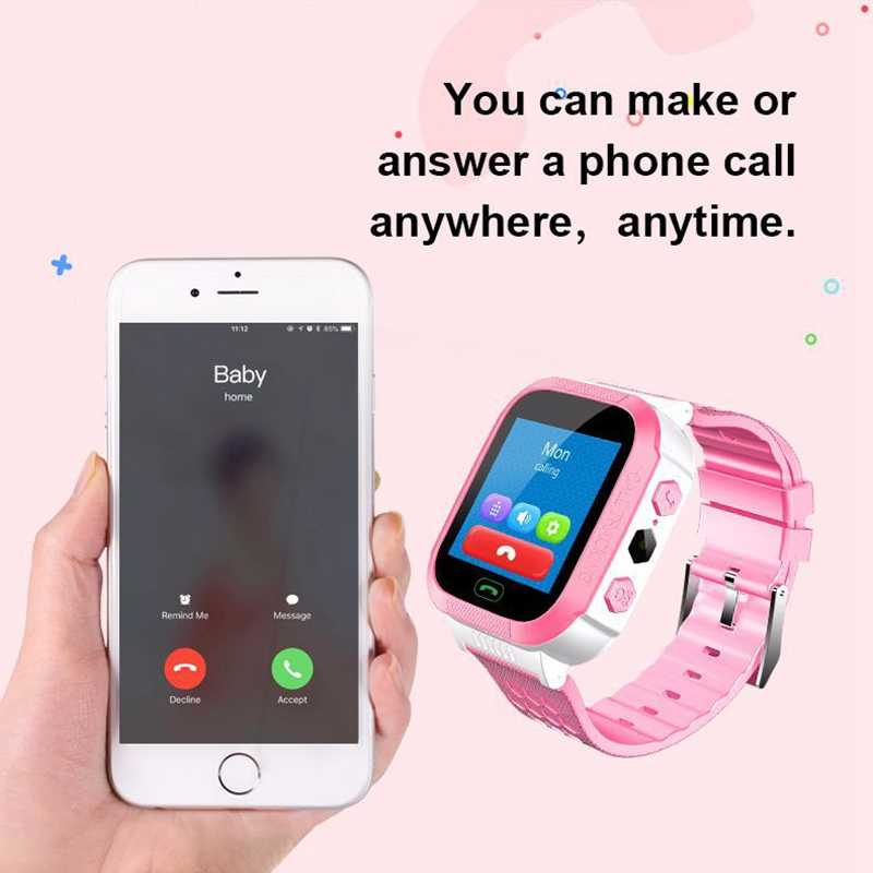 2019 Anti-lost Child Smart Positioning Watch for Kids Children Smart Watch Support SIM LBS Base Station Positioning