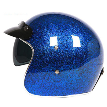 flash scale design 3/4 Moto helmet With Sunglasses and visor DOT ECE approved CFR Fiberglass helmet