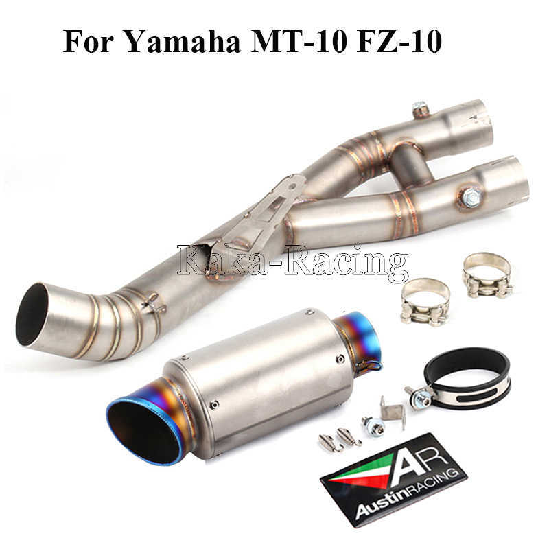 Detail Feedback Questions about MT10 Motorcycle Exhaust Full System