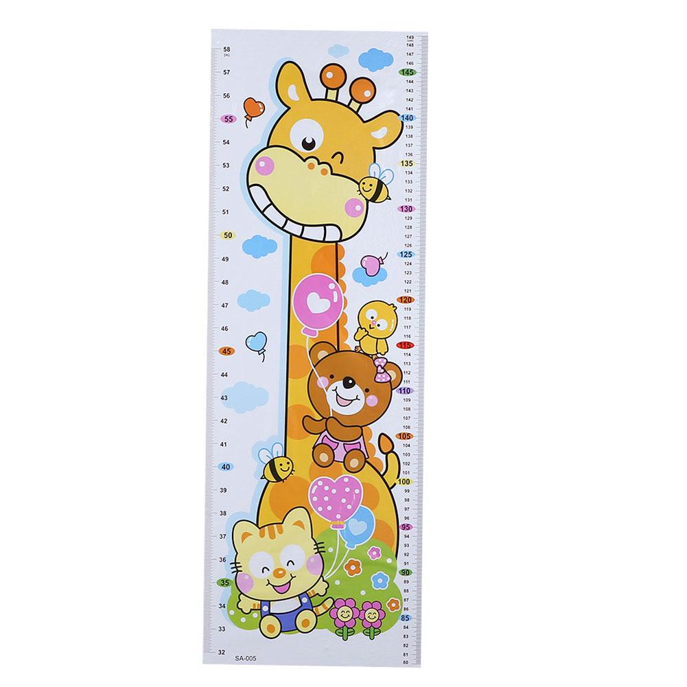HTB1XGfKcqmgSKJjSsplq6yICpXa9 - Cartoon PVC Kids Height Chart Wall Sticker For kids rooms