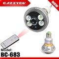 EAZZYDV BC-683 Lâmpada Lâmpada LED Câmera De Segurança CCTV H.264 Ângulo de Visão de 90 graus de Visão Nocturna do IR Câmeras de Vigilância Em Casa DVR