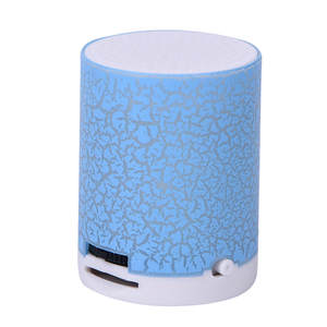5 Colors LED Portable Mini Speakers Bass Speaker With TF USB MP3 Player