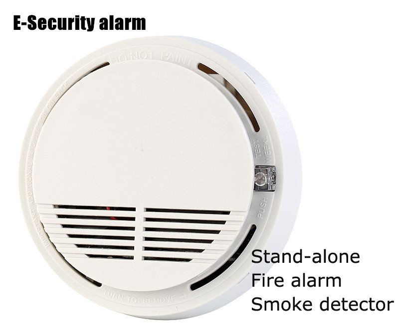 US $11 96 |Stand alone! 433MHz Wireless Fire Alarm Sensor Smoke Detector  for Kitchen, Library, Finance Room, Warehouse (SM 100) on Aliexpress com |