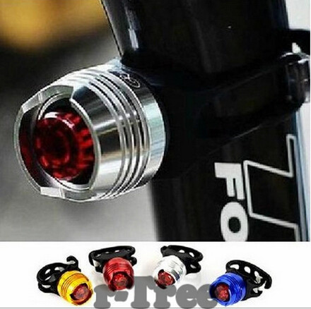 LED Waterproof Bike Bicycle Cycling Front Rear Tail Helmet Red Flash Lights Safety Warning Lamp Cycling Safety Caution Light T41