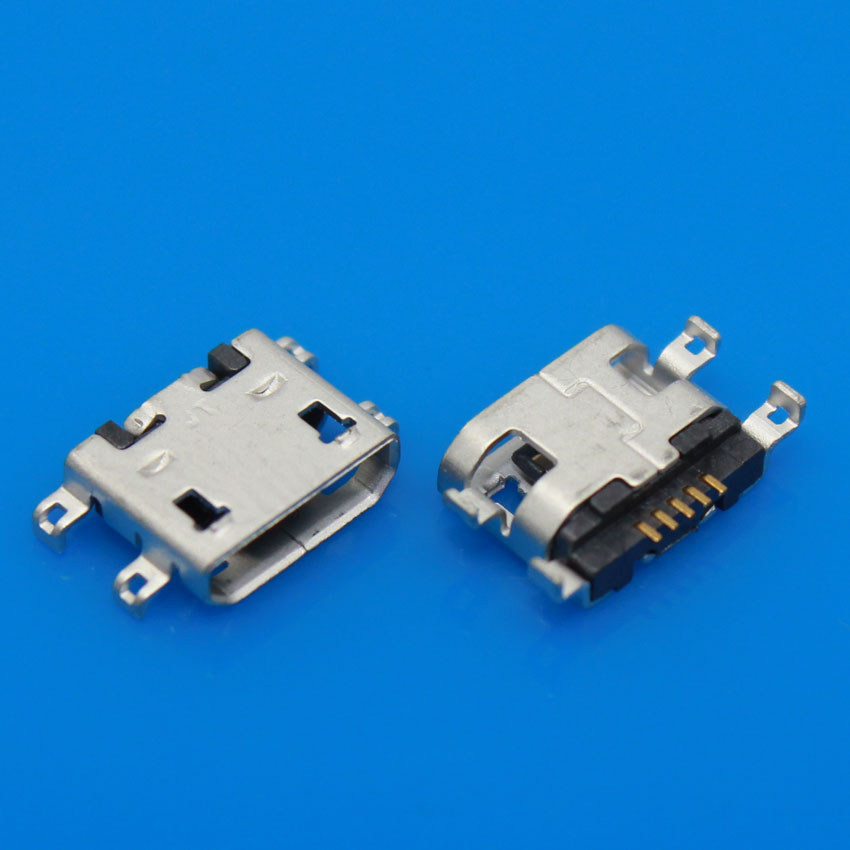 5-100PCS/LOT USB Charging Connector For Lenovo A765E A298T A798t B8000 B6000 S890 A278T Micro USB Dock Charger Port Jack tp760 765 hz d7 0 1221a