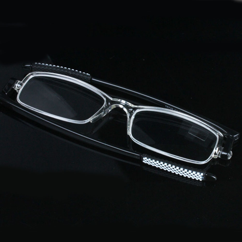 2016 Ultra-thin Clear Frame Reading Glasses Women Men Eyewear gafas de lectura oculos de grau Presbyopic Glasses