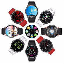 KW88 3G WIFI GPS smart watch Android 5.1 OS MTK6580 CPU 1.39 inch Screen 2.0MP camera smartwatch for apple huawei phone watch
