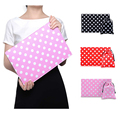 "Moda sentiu caso Laptop Sleeve para macbook air 11 12 retina 13 vermelho preto rosa dot saco do portátil para 11 ""12"" 13 ""macbook tablet"