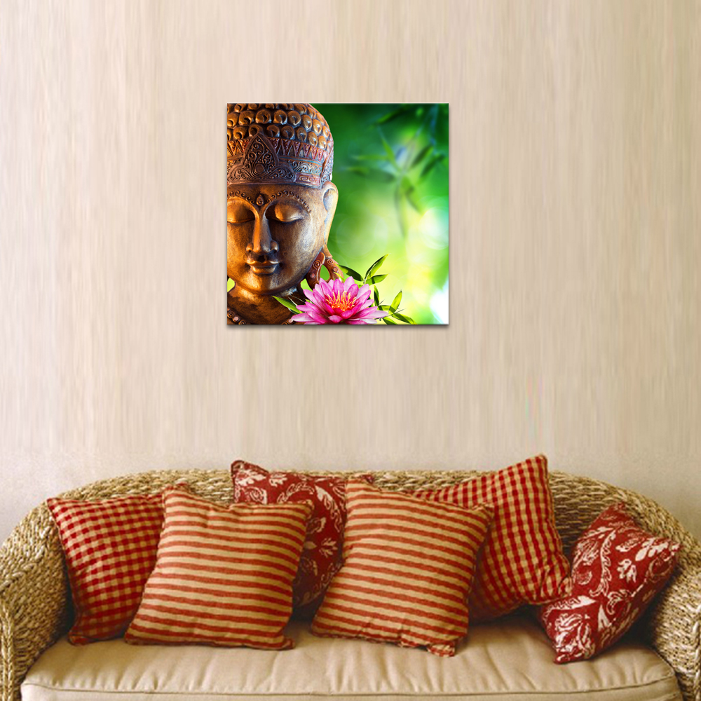 1 Panel HD Printed Merciful Buddha On Canvas Buddist Love Wall ...