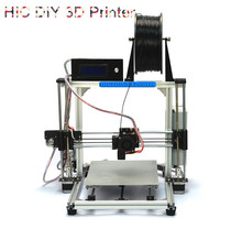 HICTOP Prusa I3 Aluminum 3D Desktop Printer  DIY High Accuracy CNC Self-assembly Tridimensional 270*210*200cm printing size