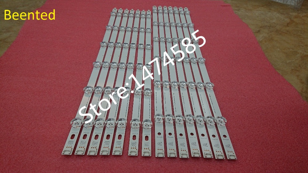 New original 14pcs Full backlight LED strip bar for Lg 55 inch TV 55LN5400 NC500DUN-SAAP1 LZ5501LGEPWA DL84 R L