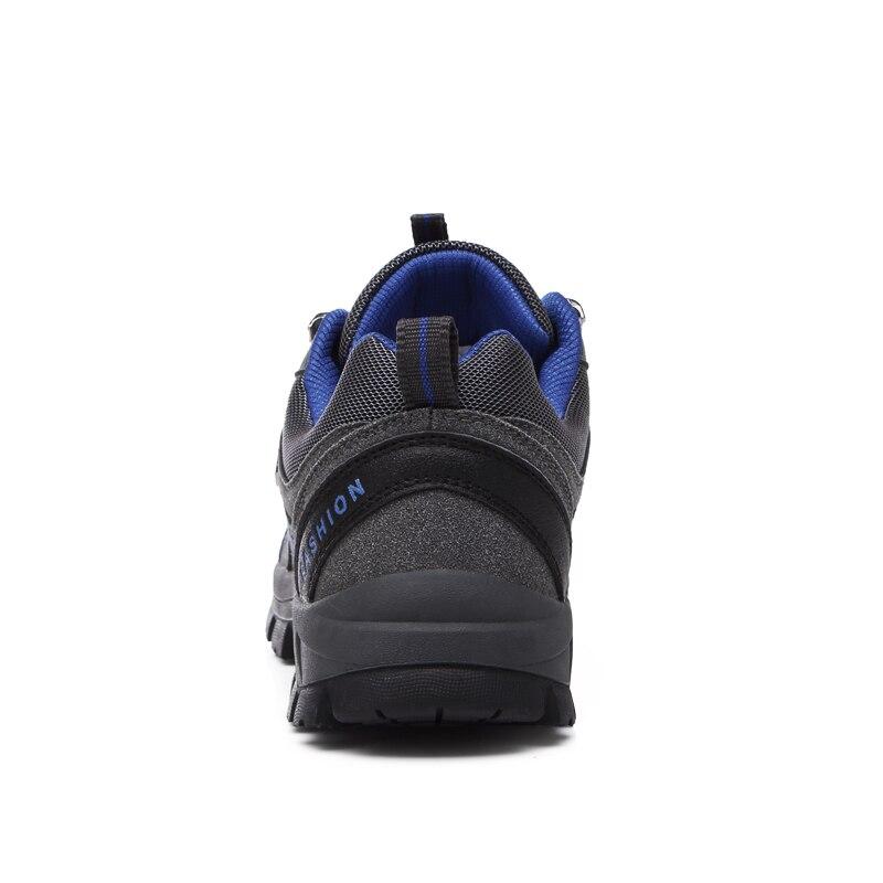 SENTA 2019 Männer Berg Wandern Schuhe Leder Jagd Stiefel Herbst Winter Herren Outdoor-Sport Schuhe Plus Größe Klettern Turnschuhe