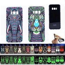 Luxo matte tpu estojo para samsung s20 nota 10 9 8 s10 s10e s9 s8 mais a50 iphone 12 11 pro max xs xr macio padrão animal capa