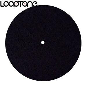 Image 1 - LoopTone alfombrilla de fieltro antiestática para tocadiscos, diseñada para una calidad de sonido clara y en vivo, Universal para todos los reproductores de discos de vinilo LP