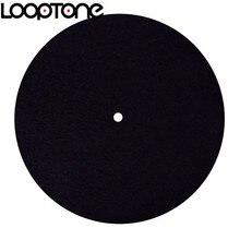 LoopTone anti statik Keçe Mat Pikap için Tasarlanmış Net ve Canlı Ses Kalitesi Evrensel tüm LP Vinil rekor Oyuncular