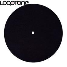بساط مضاد للكهرباء الإستاتيكية من LoopTone لقرص دوار مصمم لجودة صوت واضحة وحية شاملة لجميع مشغلات سجل فينيل LP