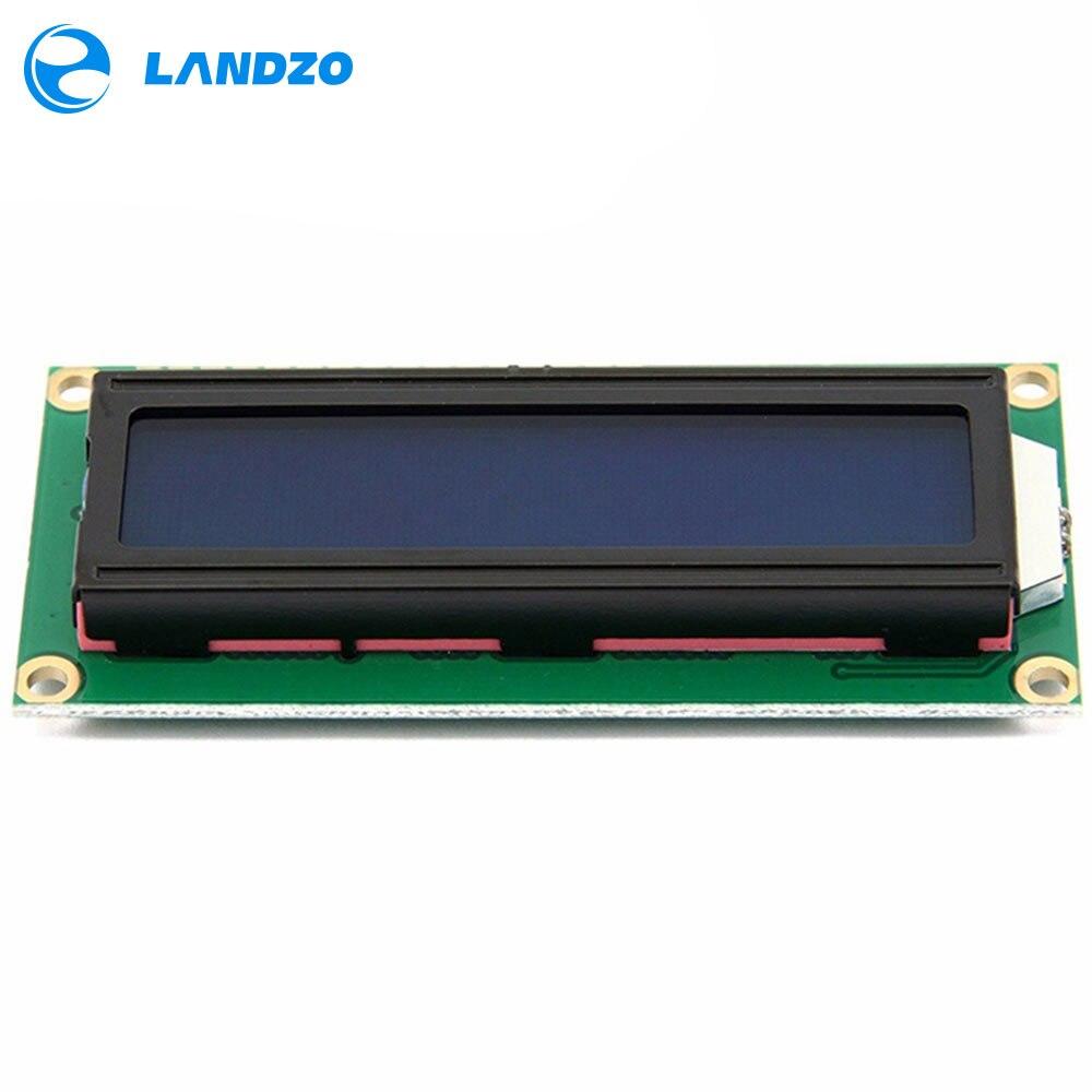 LCD1602 1602 Módulo 5V lcd 1602 pantalla azul carácter LCD pantalla módulo azul Blacklight blanco nuevo código