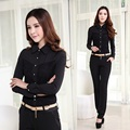 Formal Women Work Wear Suits with Pant and Top Sets 2017 Autumn Office Uniform Styles Black Lace Free Shipping