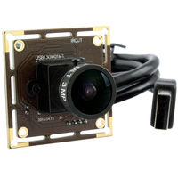 ELP 5 PCS wholesale 1.3mp AR0130 low illumination wide angle cmos usb camera module with 170degree fisheye lens for medical