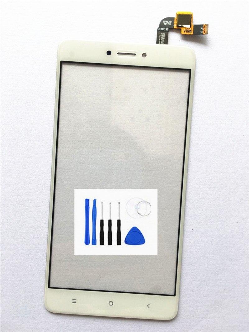 Nouveau Panneau Tactile Digitizer écran Assemblée Pour Xiaomi Redmi Note 4x note4x Avant Verre Capteur