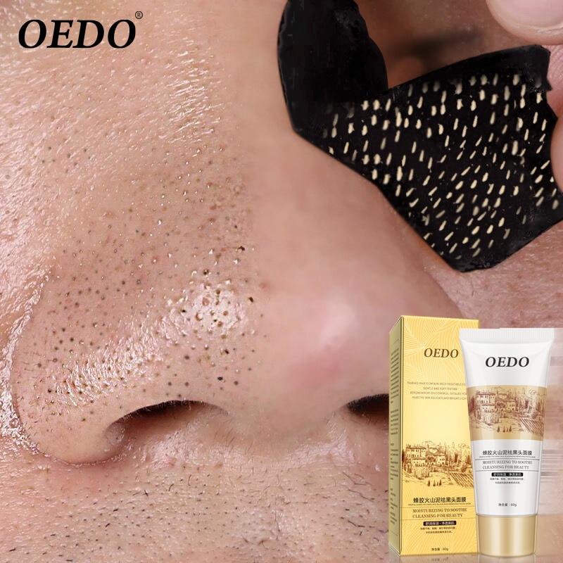 Vulkanski Tretman maske za lice Acne Uklonite Blackhead mite Propolis Njega lica Njega lica Popravka Izbjeljujuća krema Njega kože