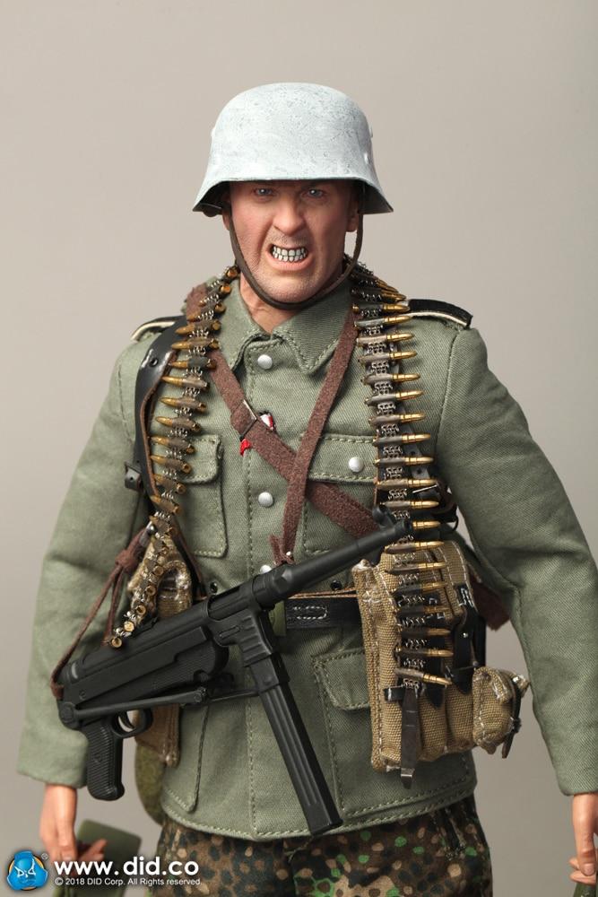 DID-3R D80131 1/6 German Imperial Armored Division MG42 Machine Gunner Egon 12