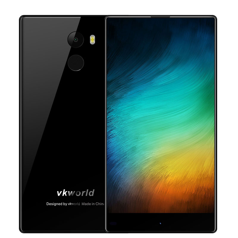 Vkworld Mix Plus 5.5 Inch Smartphone Android 7.0 Quad Core 3GB RAM+32GB ROM 1280x720 8MP+13MP Fingerprint 4G Unlocked Cell Phone