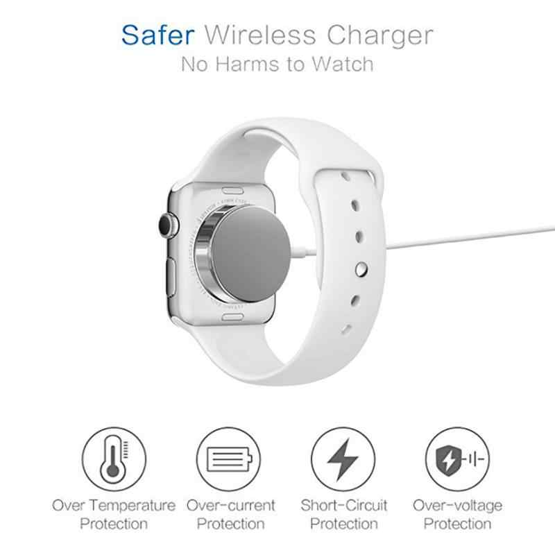 1M Universal Wireless Charger For Apple Watch 1 2 3 4 USB Magnetic Charging Cable For iwatch 1/2/3/4 (38/42 mm)