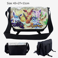 Pokemon Pokeball Plush Bag Tote Canvas Messager Shoulder School Game Bag Doll