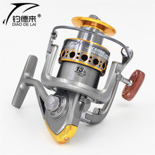 Free shipping 2016 Hot-sales! Brand 13BB Metal Spinning Fishing Reel Carp Bass Sea Fishing Reel Fishing Tackle DC1000-7000