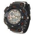 Ak1389 alike deporte fecha cronógrafo digital de luz de los hombres reloj de pulsera de calidad superior caliente!