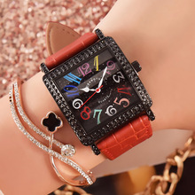 New ladies Crystal Watch Women Watches T