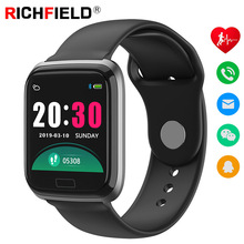 Smart Bracelet Blood Pressure Watch Heart Rate Sleep Call Reminder Sport Smart Band Fitness Activity Tracker Smartband Wristband недорого