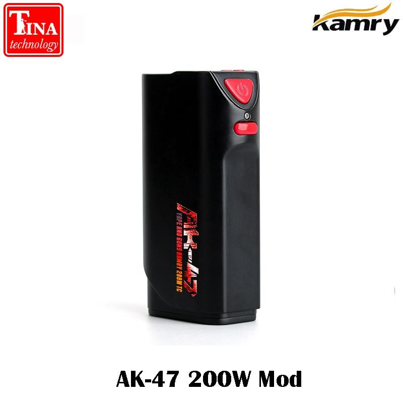 100% original Kamry AK-47 200W TC MOD Built-in 4500mah big battery fit for 510 vaporizer e-cigarette mod for free shipping free shipping original dji tb47d battery 99 9wh 4500mah 22 2v for matrice 100 high performance