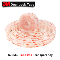 3M tape High temperature and adhesive tape SJ3560 dual lock 3m dual lock tape clear 1in*20m one roll we can die cut any size