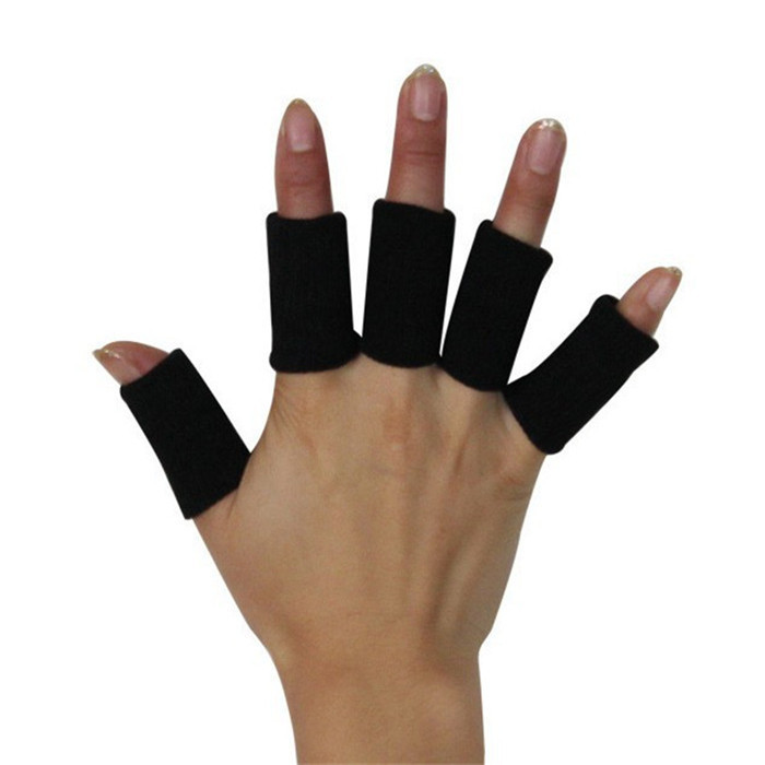Longthen Elastic Finger Support 10pcs/lot Comfortable Archery Bunion Breathable Hallux Valgus Sprains Protector Thumb Bracket