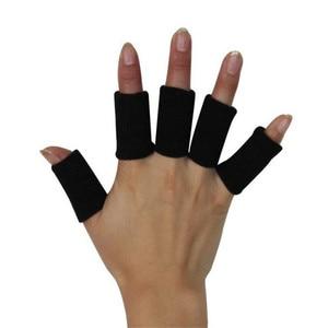 10PCS Lengthen Elastic Finger Support Comfortable Archery Bunion Breathable Hallux Valgus Sprains Protect Thumb Bracket T018OLE