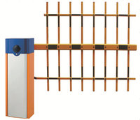 Hot sale Three Fences Arm Parking Barrier gate/automatic gate barrier system