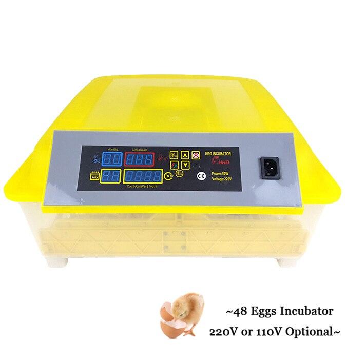 Inkubator Voll Automatische Digitale Grübler Huhn Ente Ei Inkubator Thermostat für Schlüpfen Wachtel Geflügel Eier Inkubator grübler-in Träger aus Heim und Garten bei  Gruppe 1